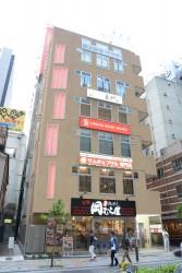 ▲このビルの最上階に店舗を構える。