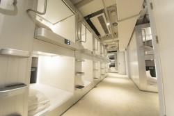 ▲ユニット部屋はこんな感じ。上下2段、広さ各2平米とかなり広め。