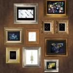 キングダムハーツ 15周年メモリアルステンドグラスクロック展示 (27)