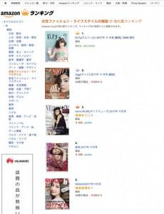 発売日前の雑誌は「予約数」が実売数としてカウントされるamazonの売上ランキング