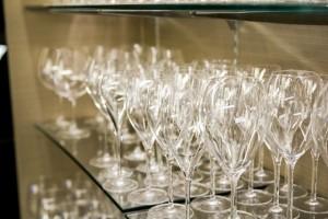みんなで乾杯できそうなくらいのワイングラス