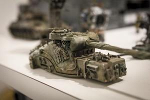 戦車に見えるが、ベースはPC用「マウス」
