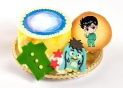 浦飯幽助の〝霊丸!!″ケーキ