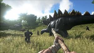恐竜や太古の生物が生息する島で生き残れ!