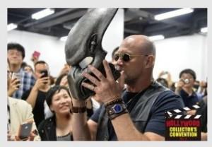 2014年開催時登場したマイケル・ルーカー(メルル役)。羨まし過ぎる(写真は公式サイトより)(c)Hollywood Collectors Convention.