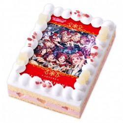カラフルでフルーティなクリスマスケーキ