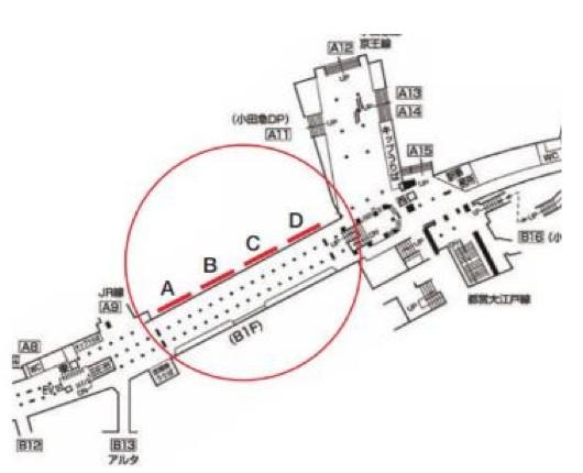 実施場所:新宿メトロスーパープレミアムセット ※東京メトロ丸ノ内線新宿駅B1F メトロプロムナード(東西自由通路)