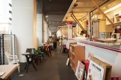 元はB−1グランプリ食堂があった場所