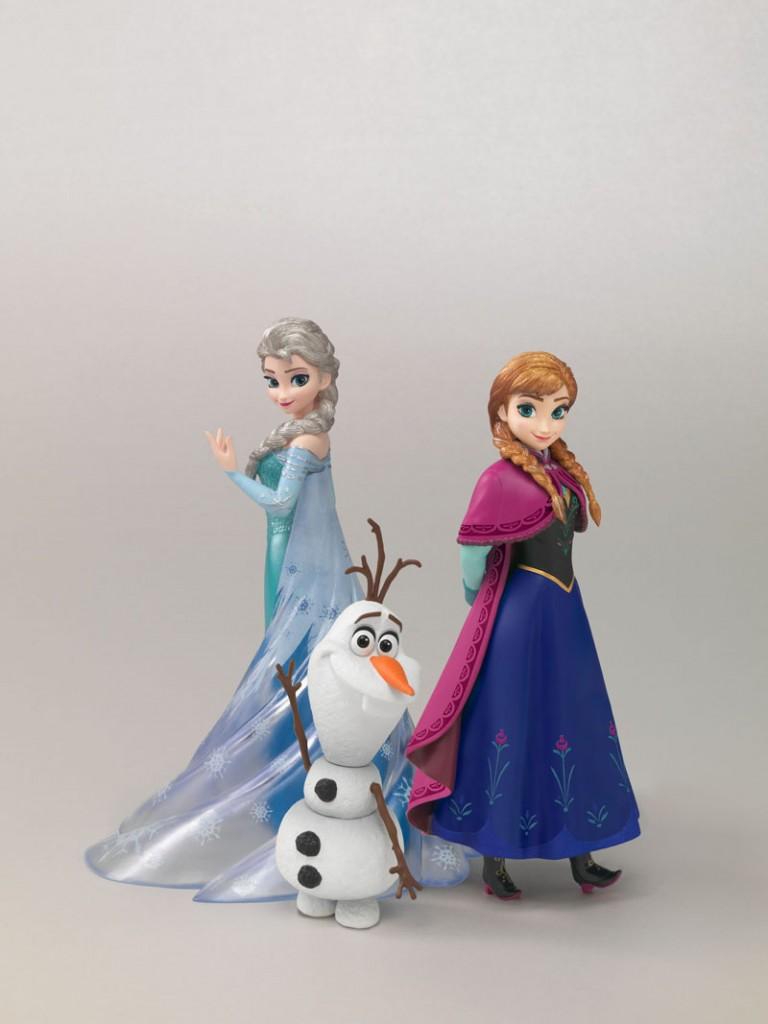 ▲『フィギュアーツ ZERO Frozen Special Box』。