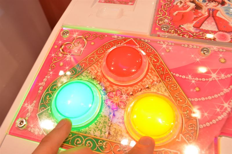 ▲ゲームで使用するボタンは3種類。