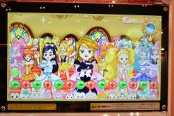 ▲最後に「プリンセスパーティー」というボーナスステージ(?)っぽいのが始まる。