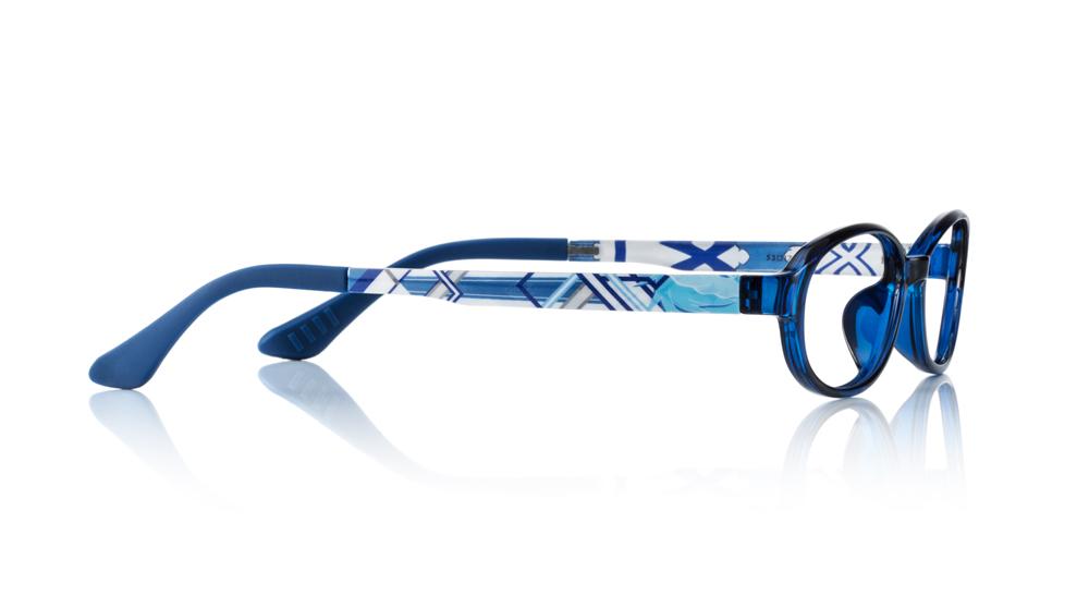 ▲フレームデザイン(Caliber_ASUNA MODEL) 新生《ALO》のアスナが属したウンディーネの種族カラーの青(水色)を基調に、《治癒師(ヒーラー)》らしさを意識して表現。