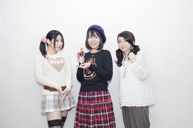 ▲左から原田ひとみさん、丹下桜さん、水橋かおりさん。