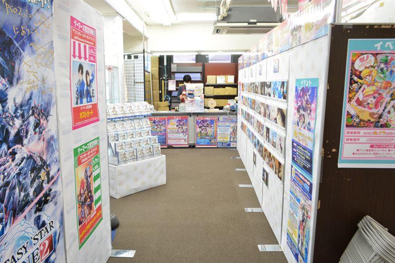 ▲3月26日(木)現在、「PSO2 MUSEUM in ゲーマーズ」「探偵歌劇 ミルキィホームズTDミュージアム」も同時開催。