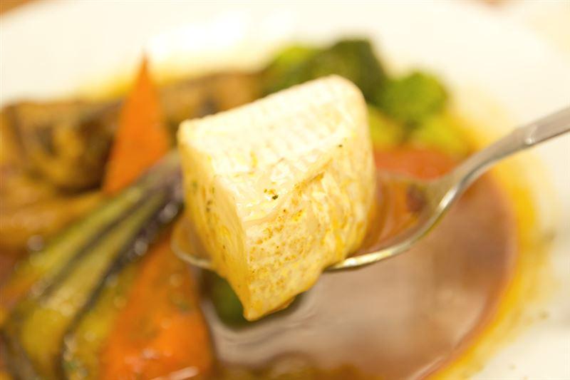 ▲とても味が上品で深い。チーズの本場の味を食べられる機会は早々ない。