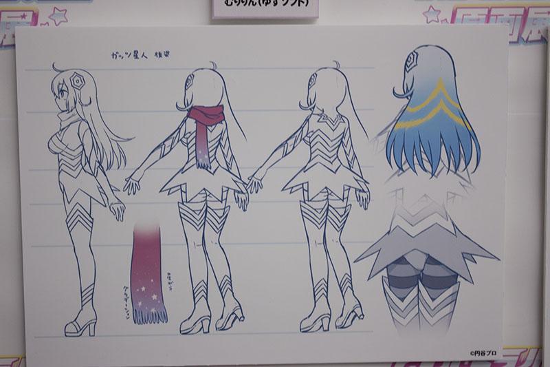 ▲イベントでは様々なキャラクターの設定画などが公開された。