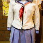 ▲店内には制服も展示。店内は撮影禁止となっているが、こちらの展示物は撮影可能。