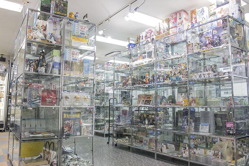▲秋葉原のレンタルショーケースショップ「コレクターズマート」も販売代行サービスを利用している。