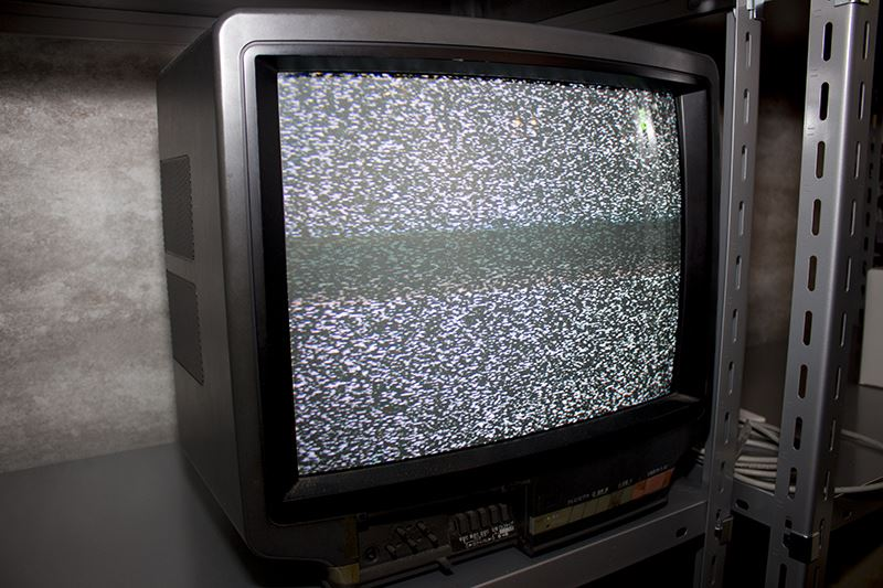 ▲ブラウン管テレビもバッチリ。