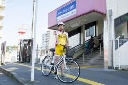 ▲京成佐倉駅に到着である。