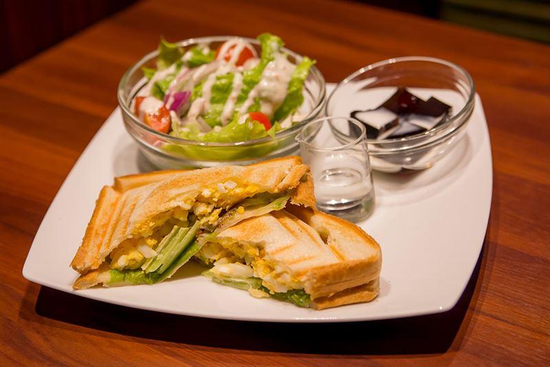 ▲ホットケーキはもちろんだが、本記者はサンドイッチもオススメしたい。
