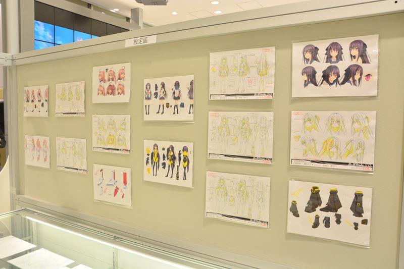 ▲キャラクターの設定画。メインだけでなく、サブキャラクターの物も用意されている。