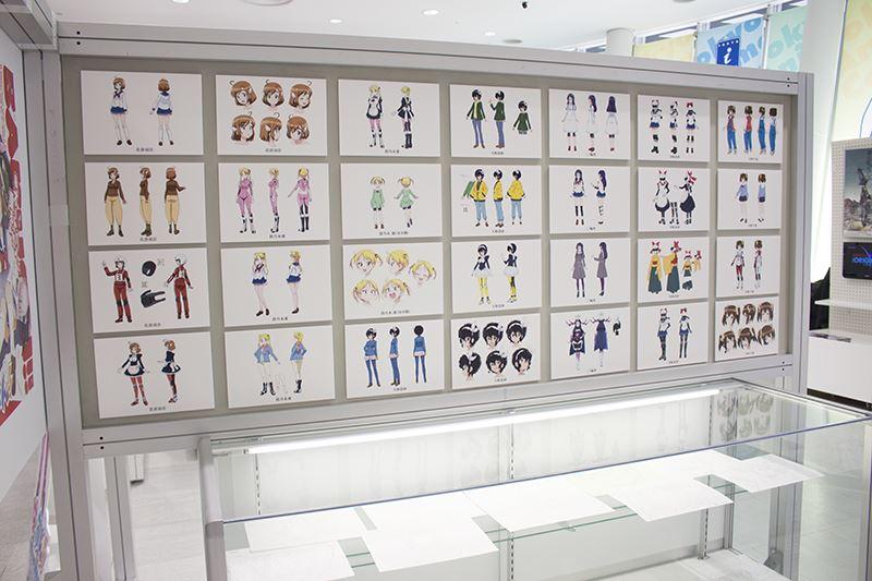 東京アニメセンター・ばくおん展・展示 (28)