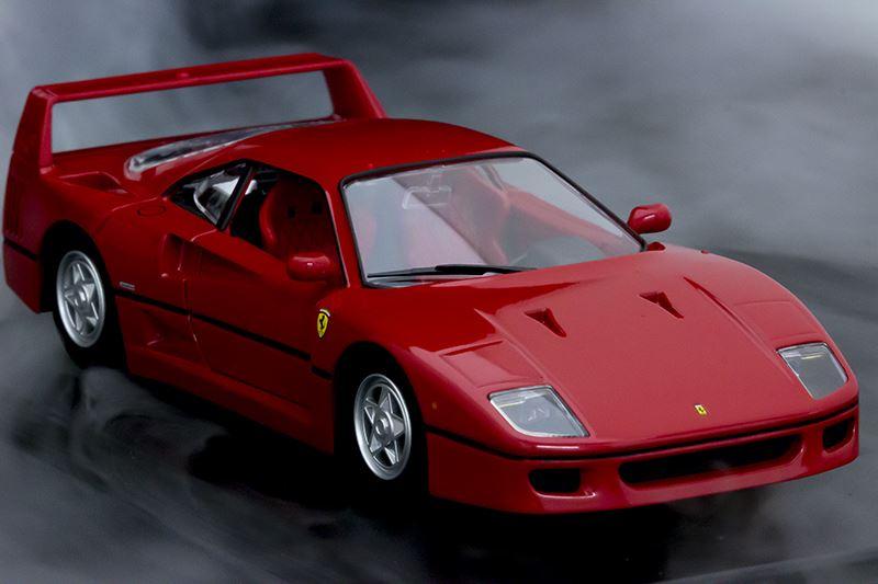▲フェラーリ史上最強・最速の車として生み出された「F40」。