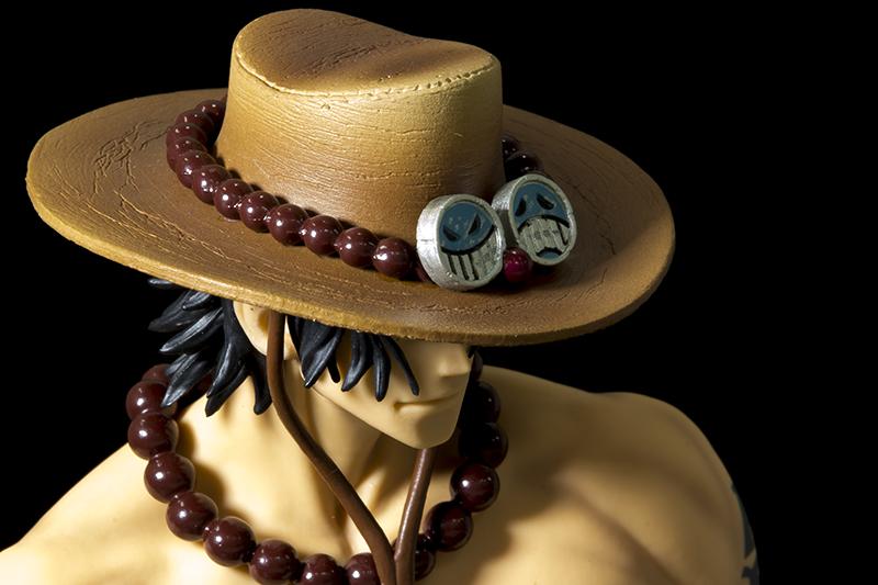 ▲シンボルの帽子など、細部までこだわって造形されている。