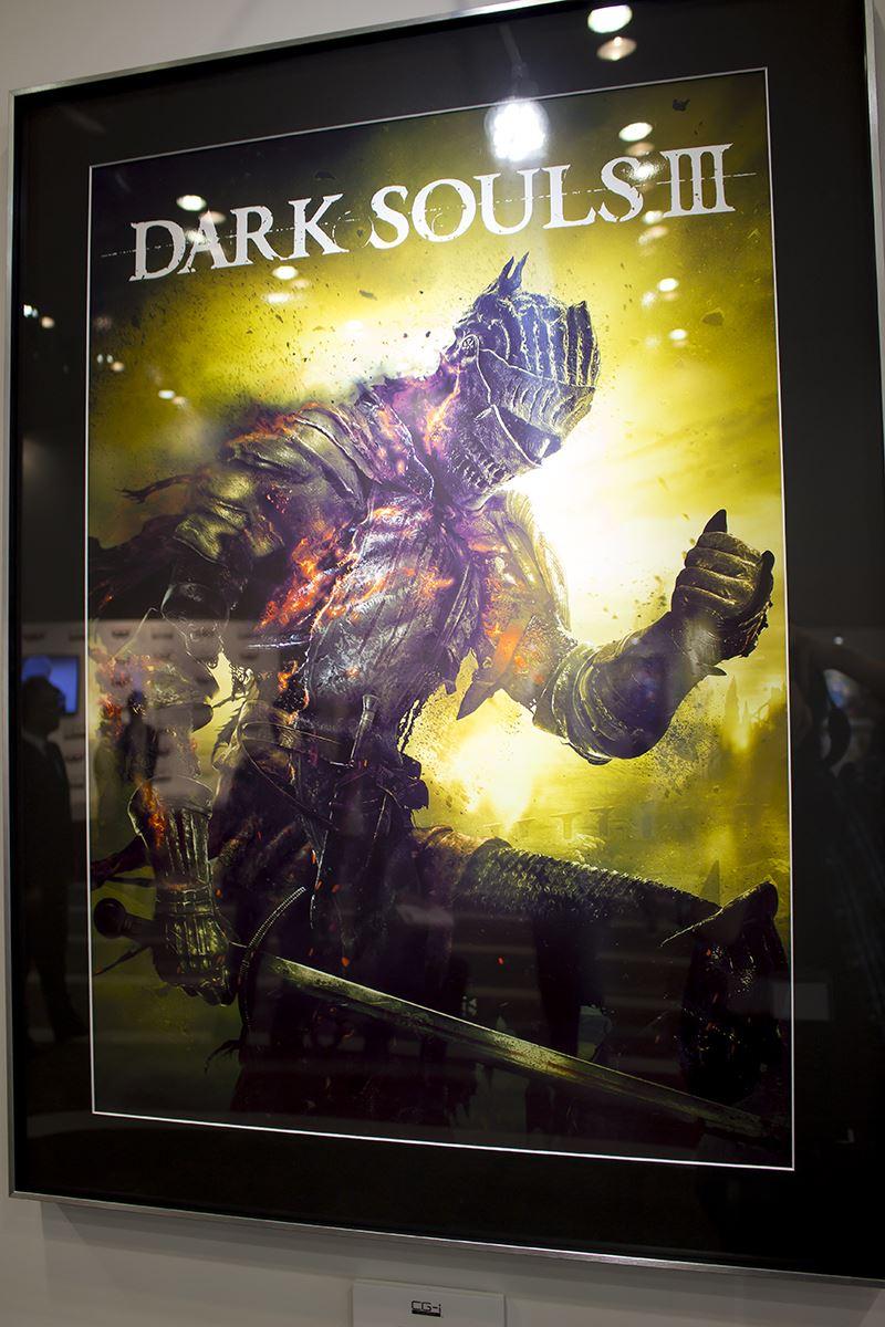 ▲ゲーム『ダークソウルIII』のビジュアルも「CG-i」によって美しく出力。