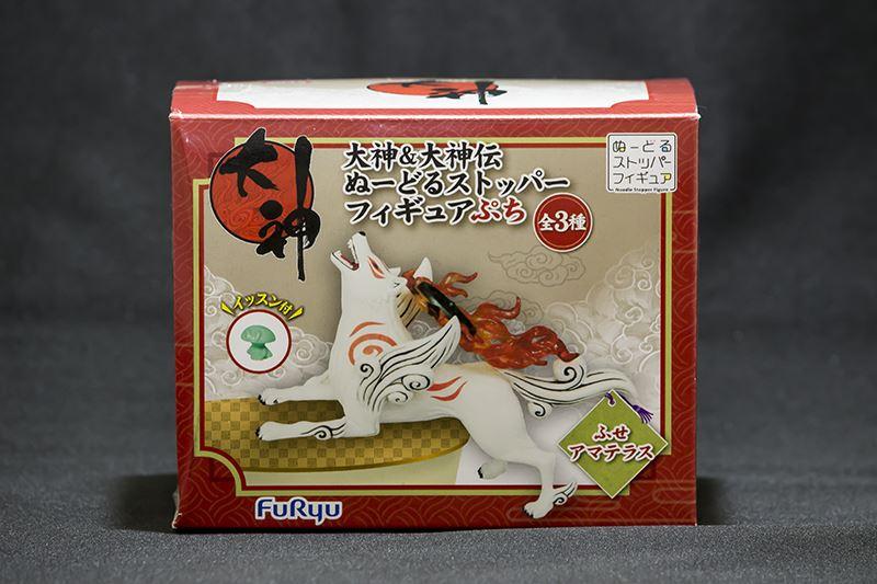 フリュープライズ・大神&大神伝ぬーどるストッパーフィギュアぷち・ふせアマテラス