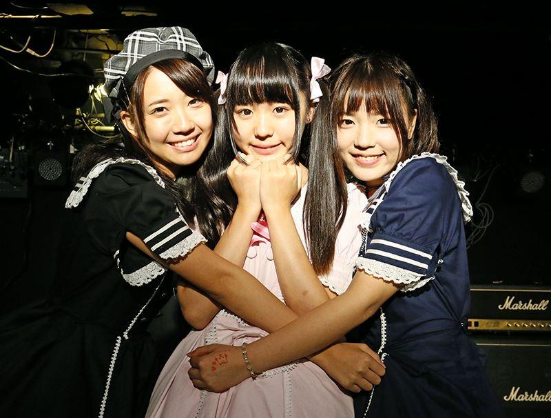 ▲左から、小松 きすみさん、みるるんさん、藤田なほさん。