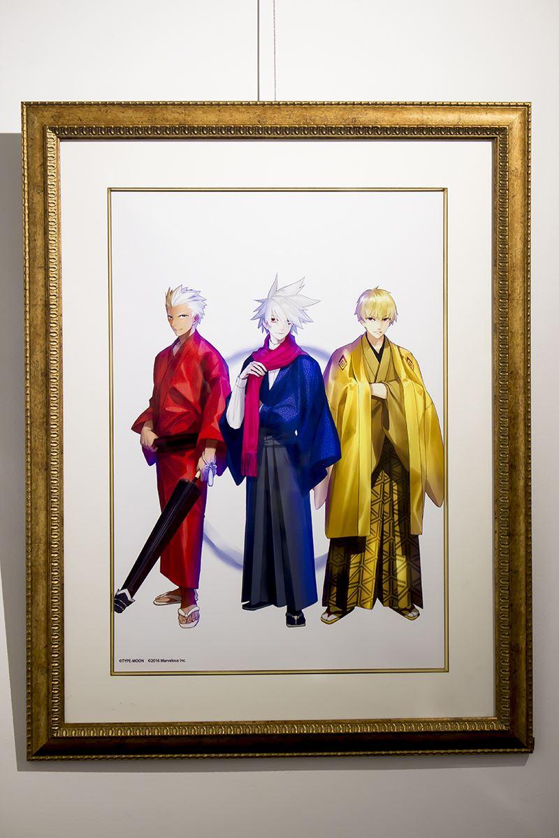 Fate/EXTELLA × TOWER RECORDS × Bookmark浅草橋~新年 領域支配権争奪戦~展示会