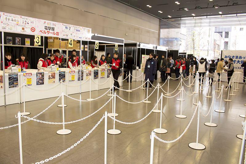 ゲームの電撃感謝祭・電撃文庫春の祭典・電撃コミック祭・会場 (1)