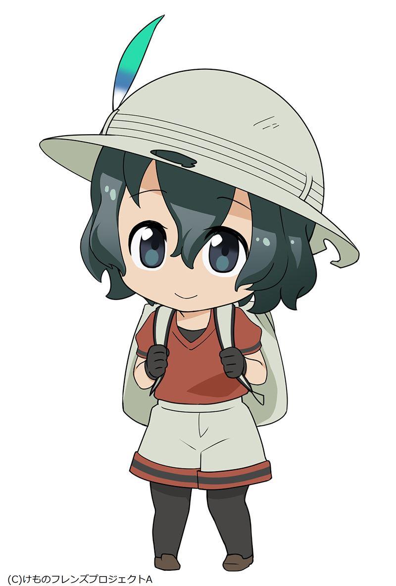 ▲アニメ版における主人公「かばん」ちゃんのねんどろいど化が決定。詳細は後日発表予定。