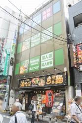 ▲新店舗が入る「木村ビル」。