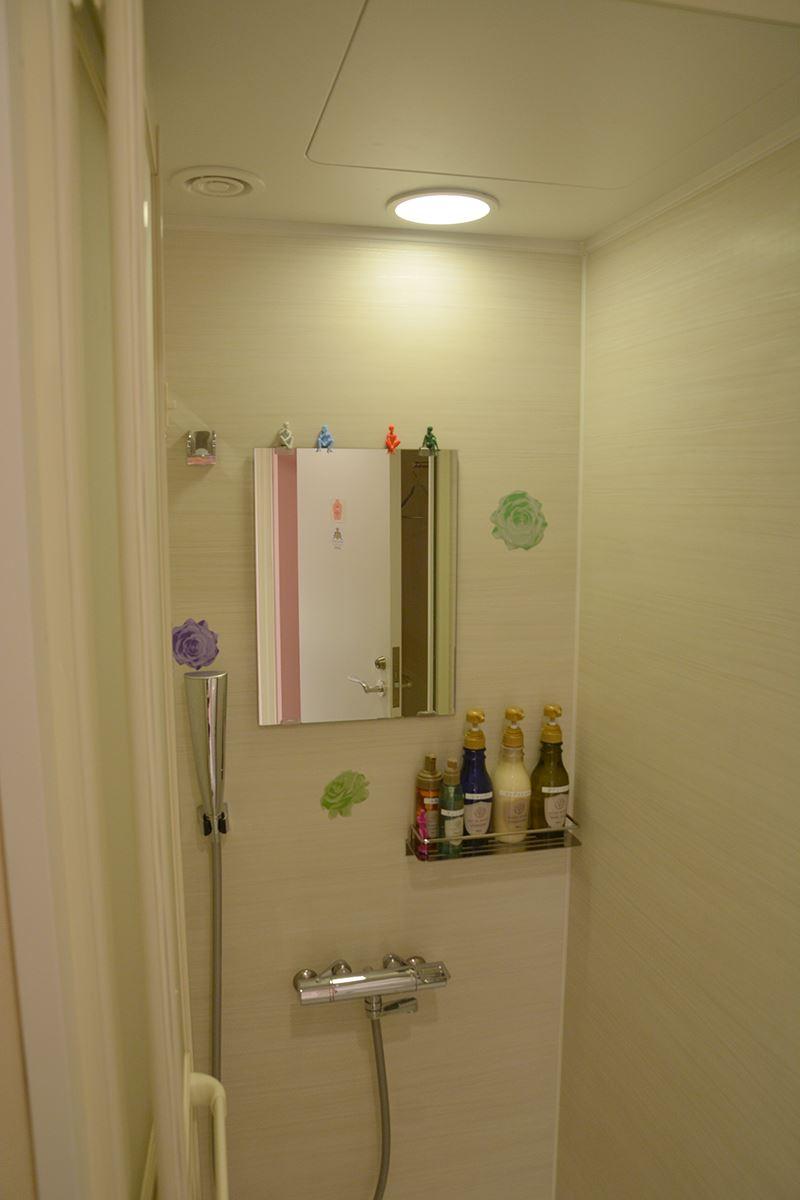 ▲シャワー室にも仕掛けが……!?