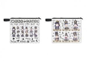 おそ松さん ~チェス松~ ステーショナリーポーチ (全2種) 約24cm