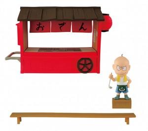 おそ松さん MEGAワールドコレクタブルフィギュア-チビ太のおでん- (全1種) 約14cm