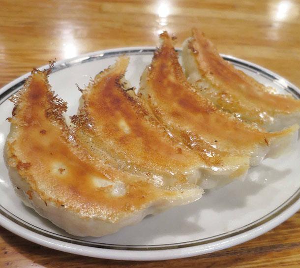 上野にある「昇龍PART2」の餃子