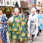 【イベント・レポ】鎧兜の武士と一緒にコスプレイヤーが街中を練り歩く―「町田時代祭り」