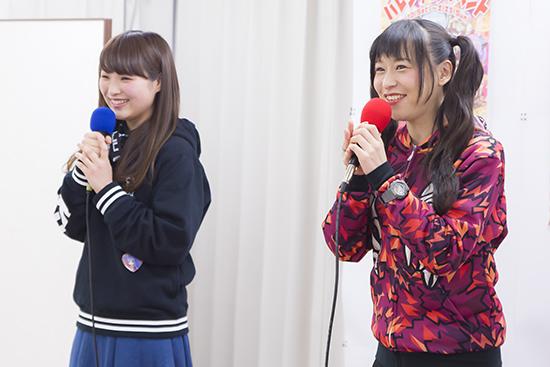 徳井さん(写真右)にツッコミ指南を受けた寺田さん