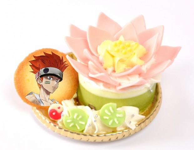 哪吒の蓮の化身ケーキ 750円