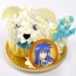 楊戩と哮天犬の仲よしケーキ (レモンの蒸しケーキ)750円