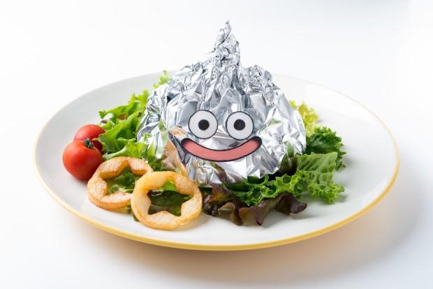 「メタルスライムの包み焼きハンバーグ」 1,380円(税込1,490円)