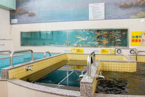 改正湯は昭和4年創業と約90年の歴史がある銭湯だ