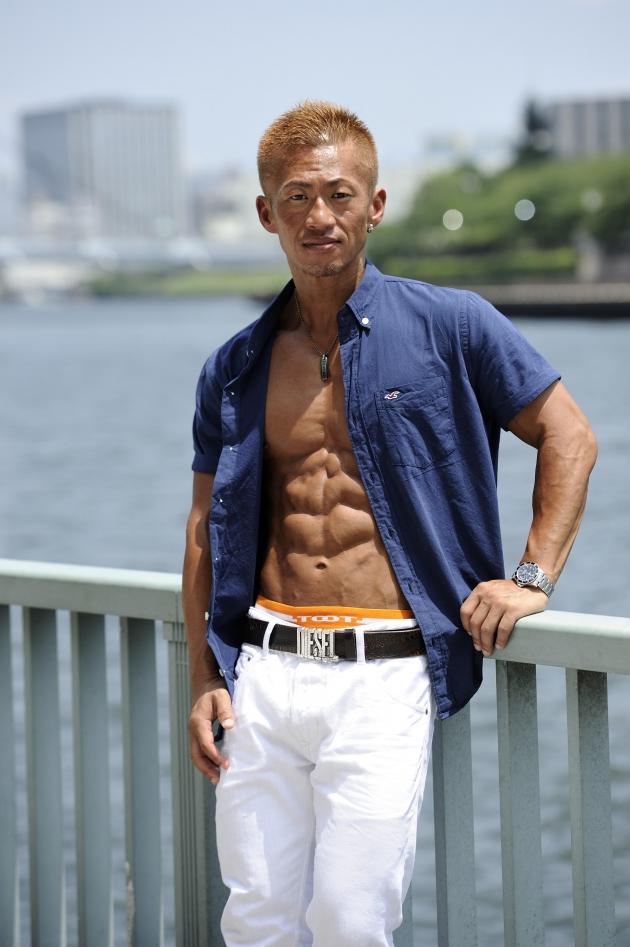 見た目は超マッチョだが、物腰やわらかで紳士的だった入江さんに記者も惚れてしまいそうだった