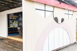キン肉ハウスを再現した海の家がオープン