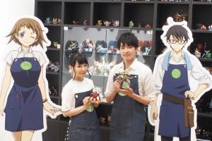 、『ガンダムビルドダイバーズ』で声優を務める伊藤かな恵さん(左)と田丸篤志さん
