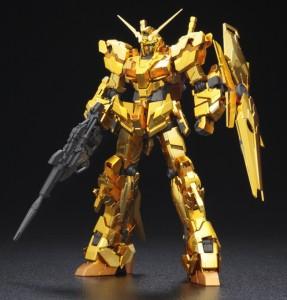 RG 1/144 ガンダムベース限定・ RX-0 ユニコーンガンダム[ゴールドコーティング]